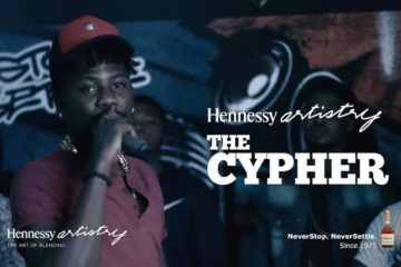 VIDEO: Hennessy Cypher 2016 ft Ycee x Vemor x Phlow x Maximum x Fatboi