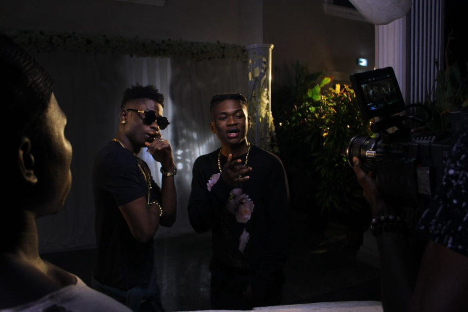 Dice Ailes ft. Lil Kesh - Miracle (B-T-S Pics + Video)
