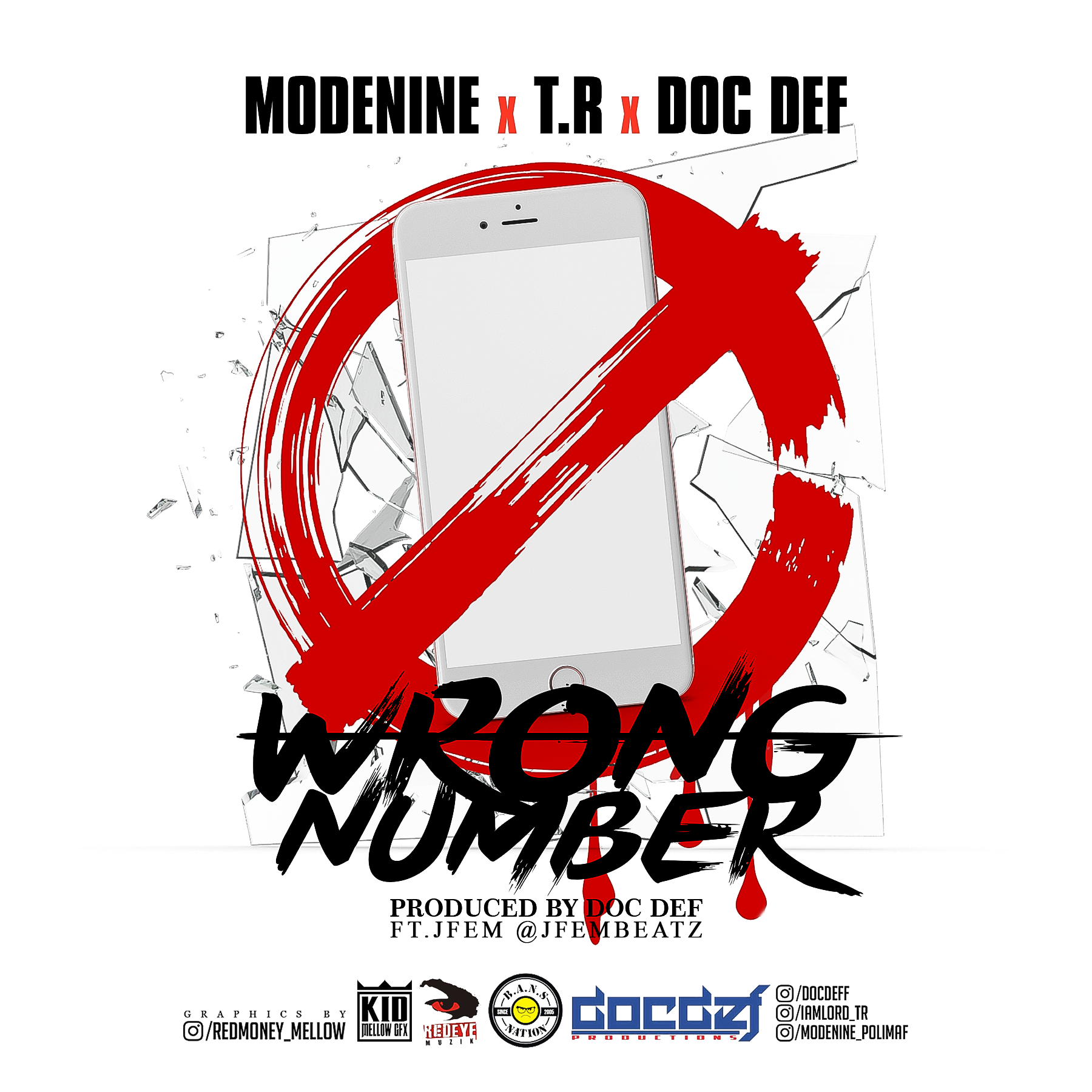 Modenine X T.R X Doc Def - Wrong Number