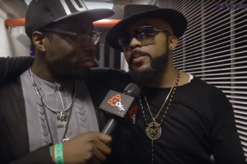 "Notjustok TV: Banky W Talks EME, ""The Wedding Party"" Movie & More @ One Africa Music Fest, NY"