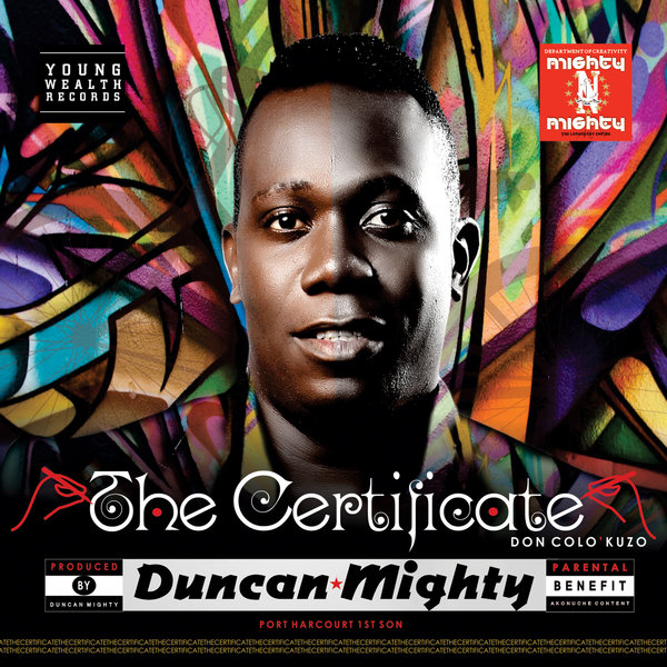 Duncan Mighty Certificate