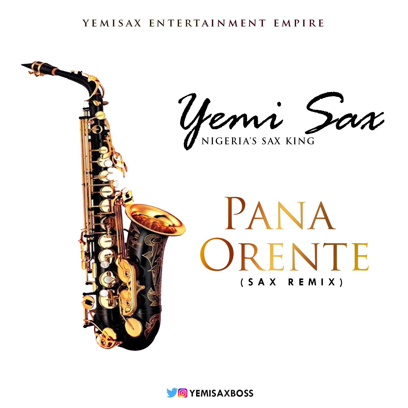 Yemi Sax - Pana | Prente (Sax Versions)