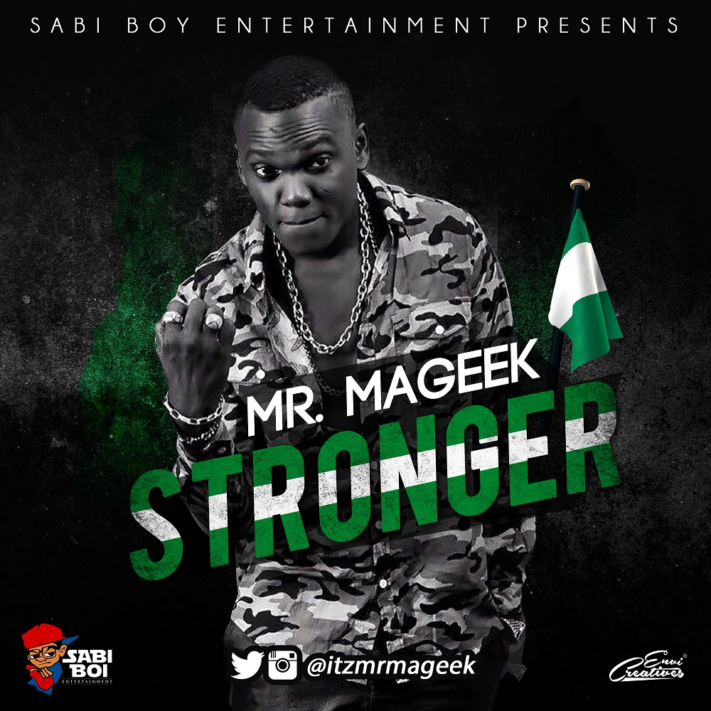 Mr. Mageek – Stronger (prod. KeyLex)
