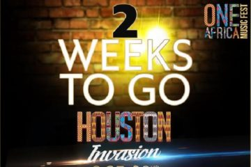 One Africa Music Fest, Houston – 2 Weeks To Go!