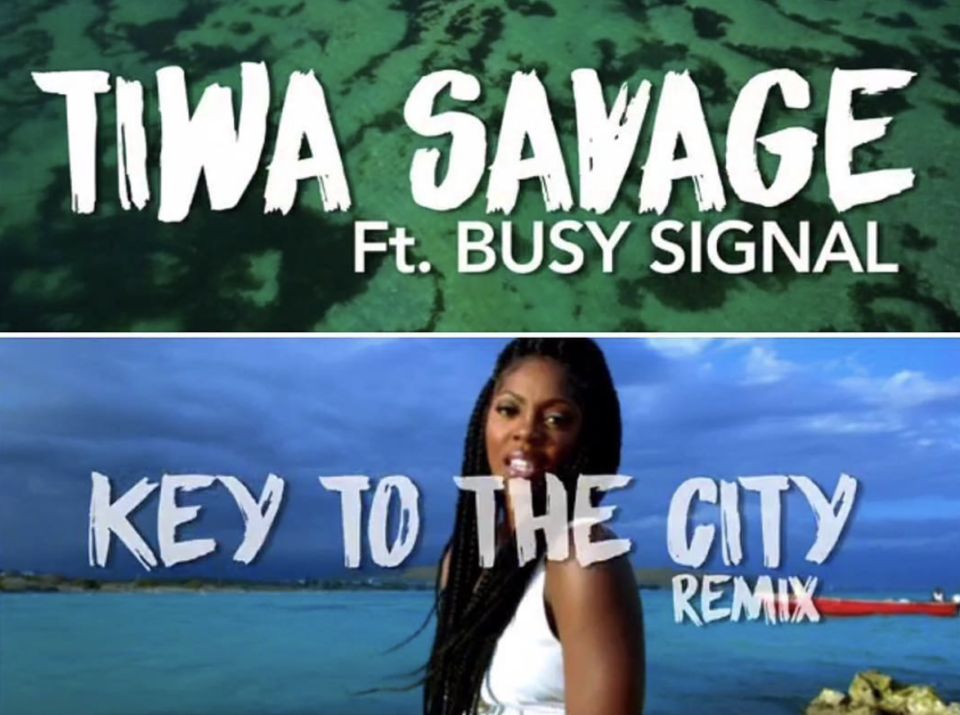 VIDEO: Tiwa Savage - Key To The City ft. Busy Signal