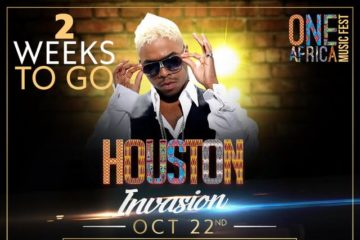 One Africa Music Fest Houston – 5 Days To Go!