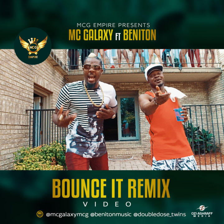VIDEO: MC Galaxy ft. Beniton X Double Dose Twins - Bounce It (Remix)