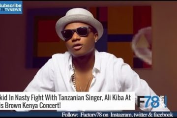 F78 NEWS: Wizkid In Nasty Fight With Tanzanian Singer Ali Kiba, Femi Kuti Disses Dede Mabiaku + More