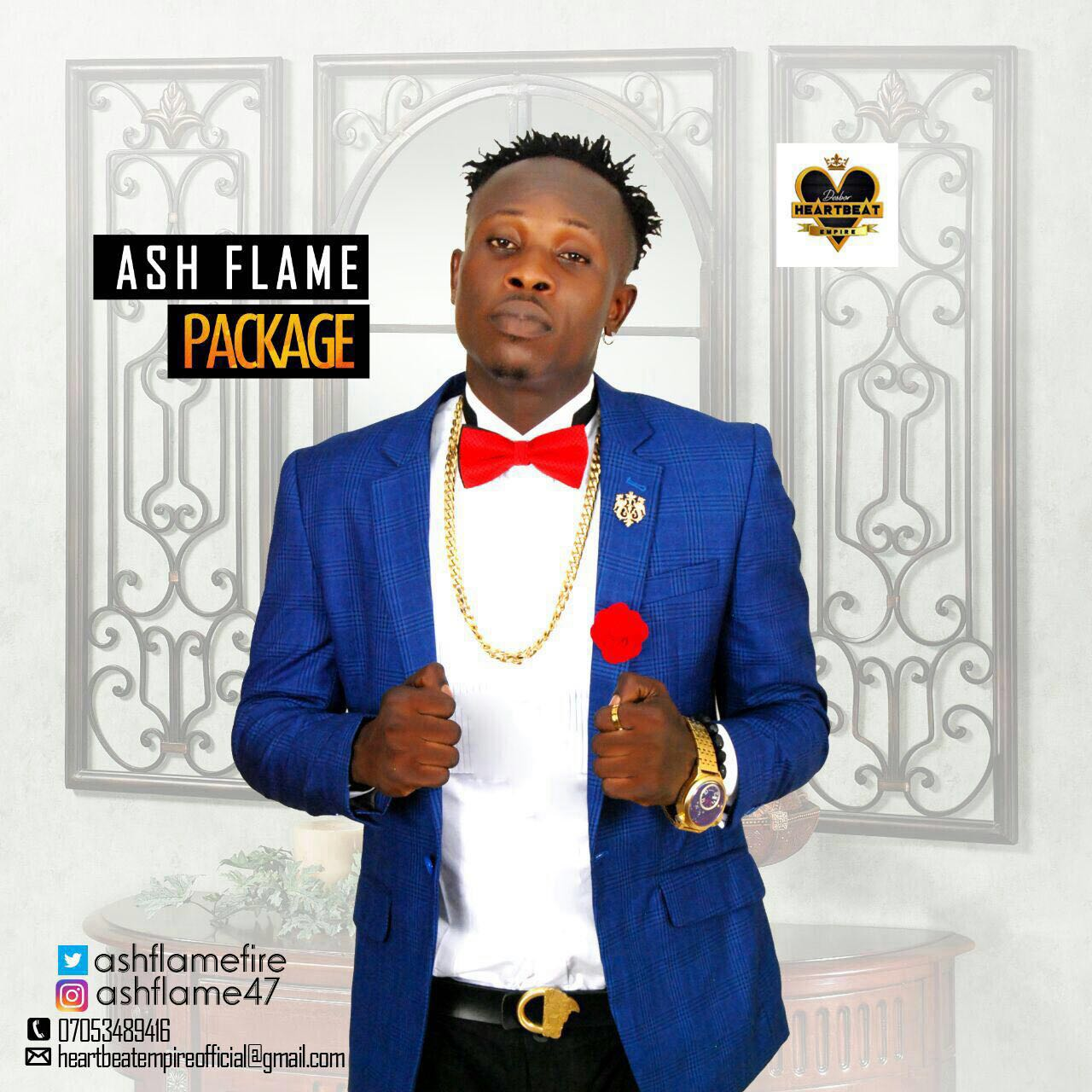 Ash Flame – Package