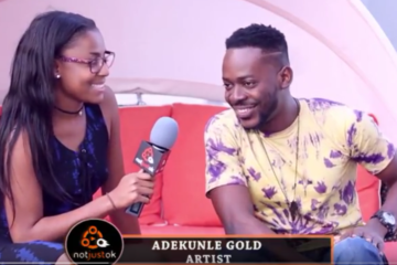 "Notjustok TV: ""Simi & I Fought Sometimes"" – Adekunle Gold Reveals Details On The ""Gold"" Album, US Tour"