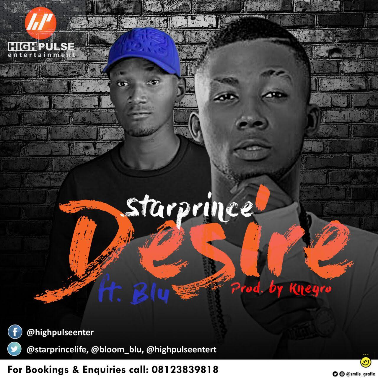 Star Prince ft. Blu – Desire (prod. Knegro)