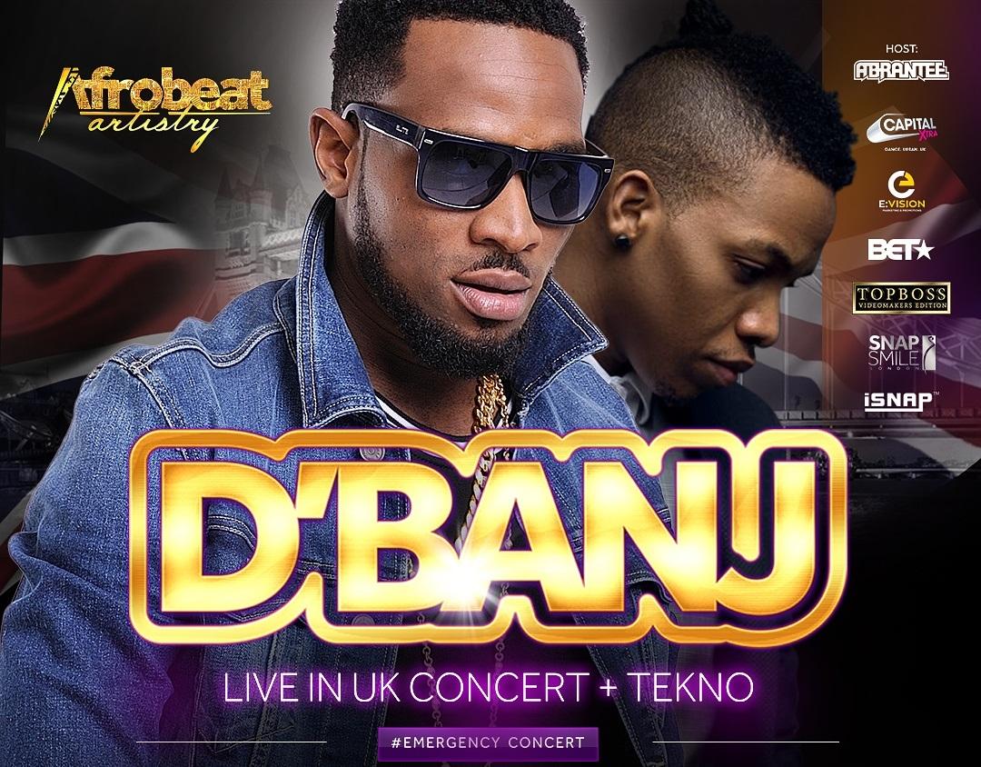 dbanj-tekno-uk-tour