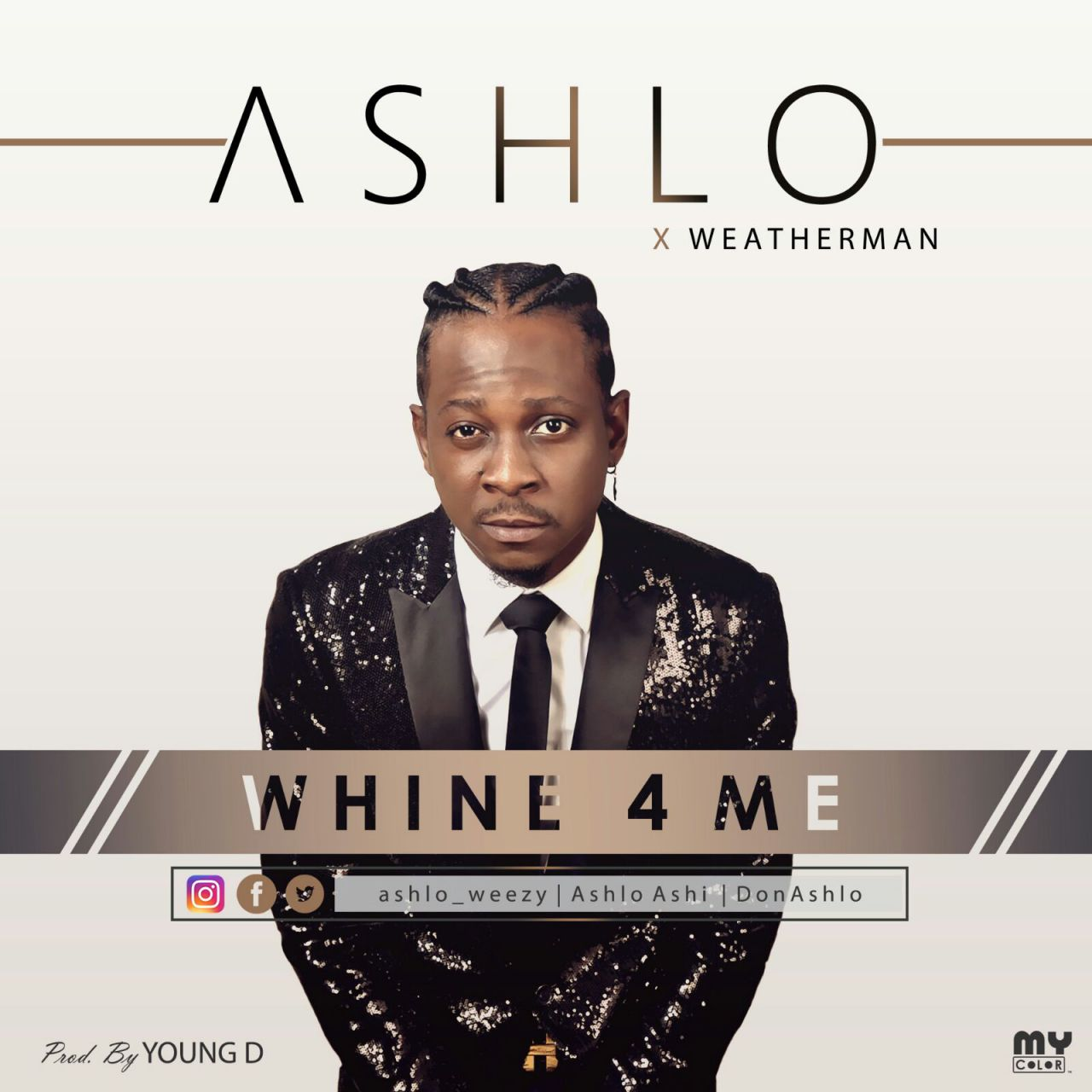Ashlo ft. Weatherman – Whine 4 Me (prod. Young D)