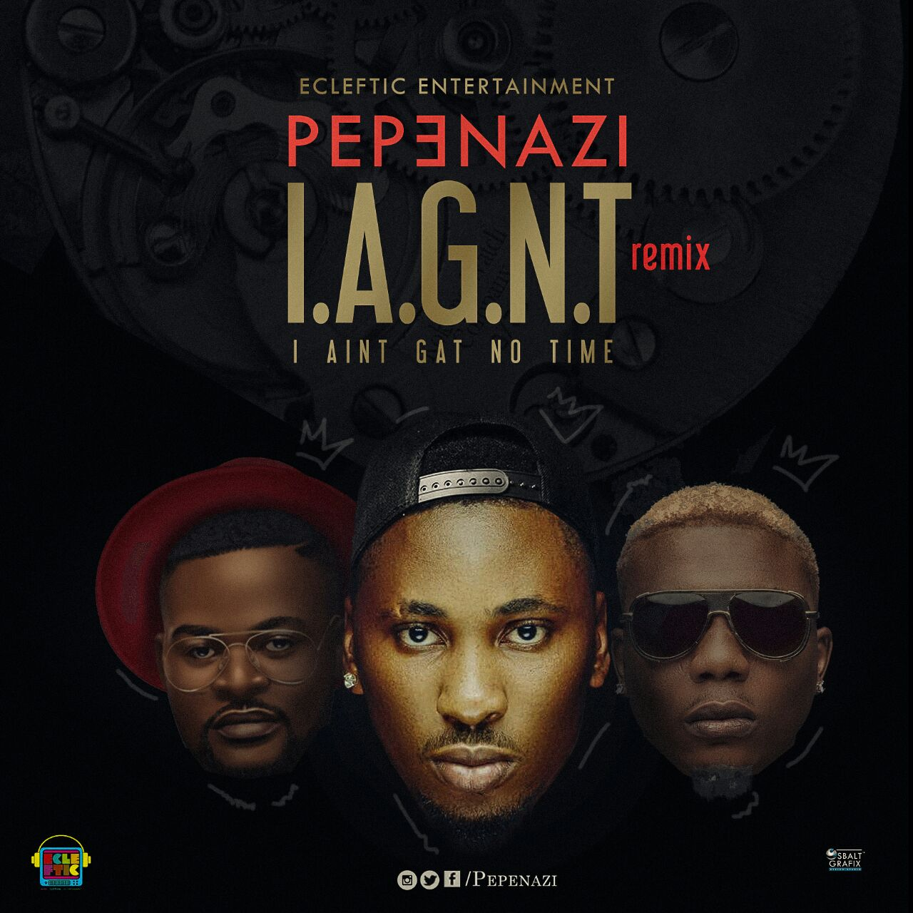 Pepenazi ft. Reminisce X Falz - I Aint Got No Time (Remix)