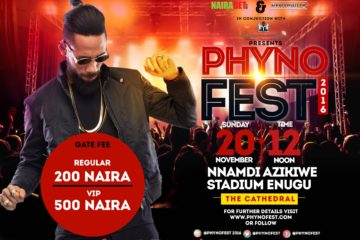 Phyno Appreciates All His Fans! Announces #PhynoFest2016