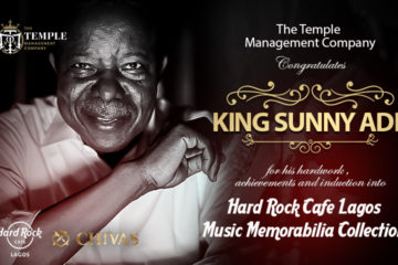 King Sunny Ade To Be Inducted Into Hard Rock Cafe Lagos Music Memorabilia Collection