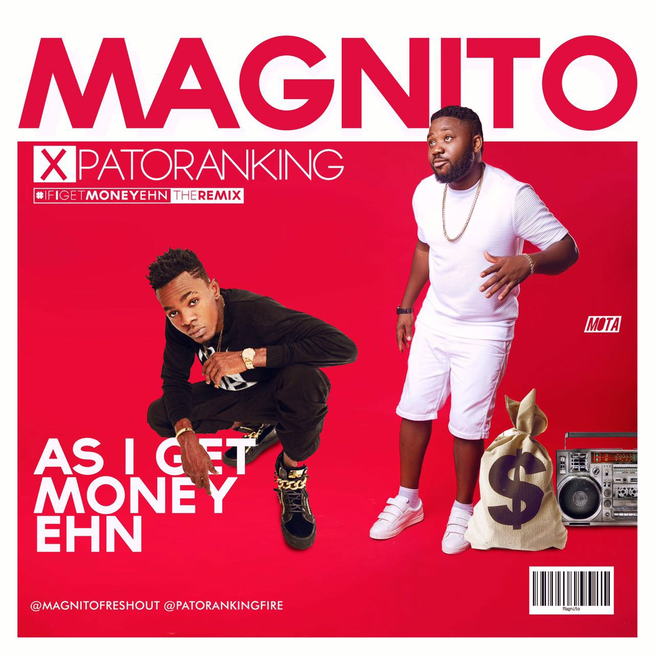 Magnito ft. Patoranking - As I Get Money Ehn