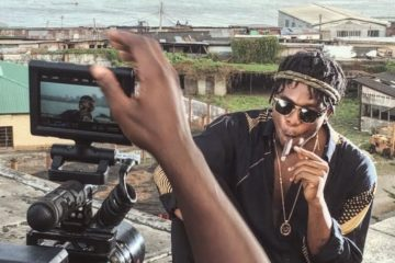 "Runtown Shoots Video for ""Mad Over You"" 