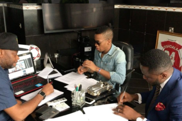 VIDEO: Tekno Signs Deal with Sony Music