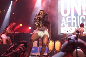 Notjustok TV: Tiwa Savage's Performance @ One Africa Music Fest