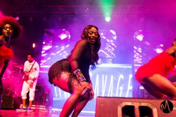Why Is No One Talking About Tiwa Savage's Dope Leg Work At Cardi B's Show? Watch!