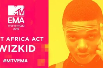 "Wizkid Adds ""Best African Act"" Award @ MTV EMAs to His MOBO Award 2016 Win"