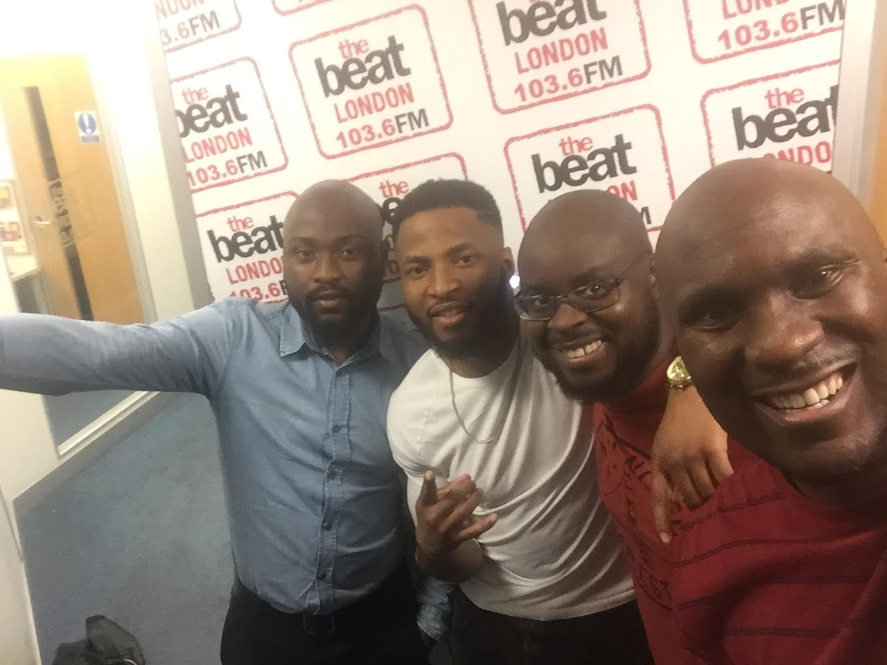 Afrohits On The Beat London, 103.6FM (03/11/2016)