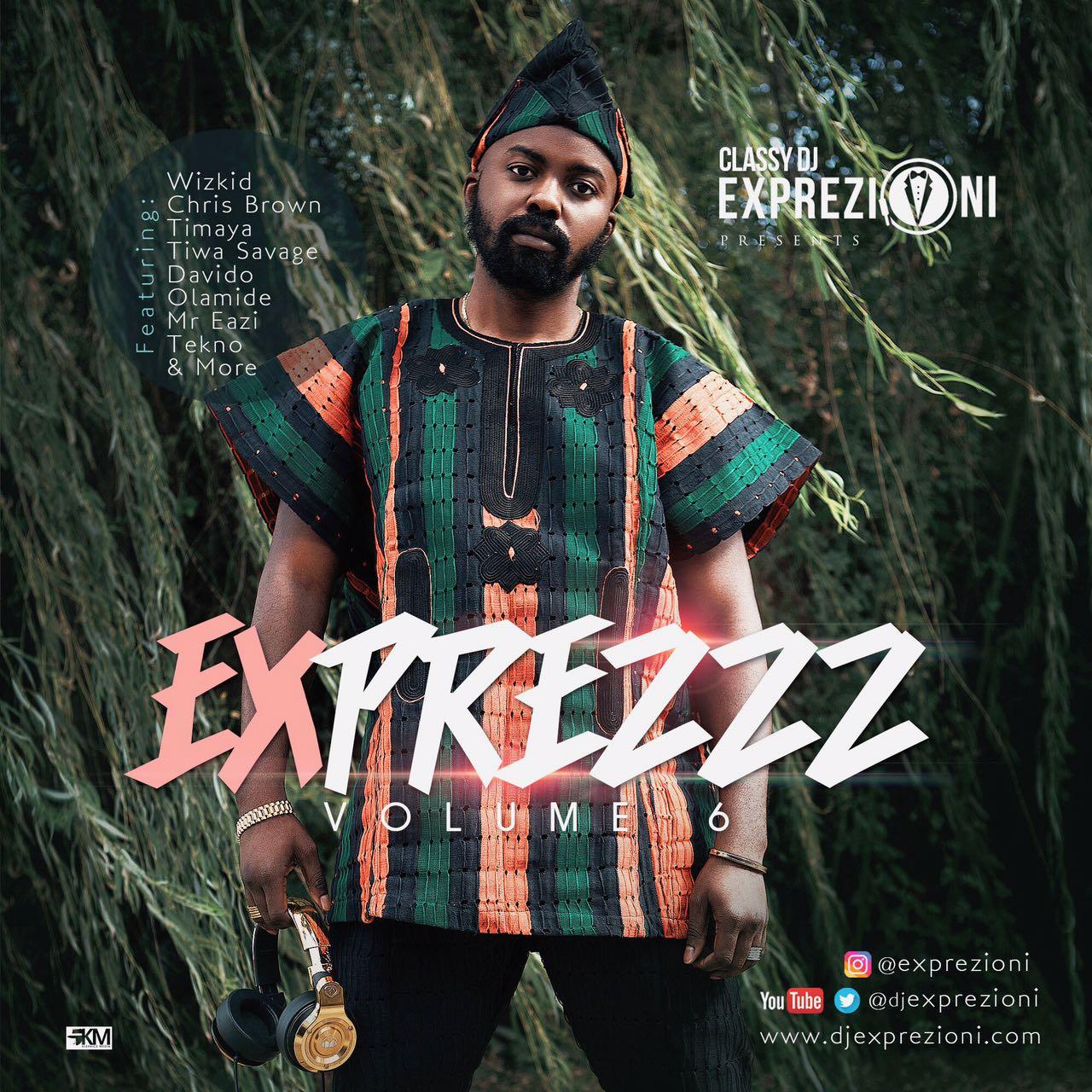 Classy DJ Exprezioni - Exprezzz Vol.6 Mixtape | DOWNLOAD