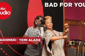 VIDEO: Yemi Alade, Nyashinski & Chopstix – Bad For You – Coke Studio Africa