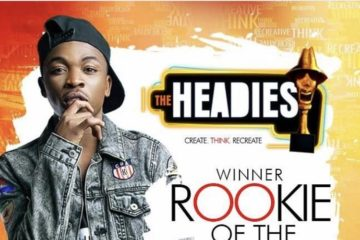 Mayorkun Wins Headies Rookie of the Year 2016