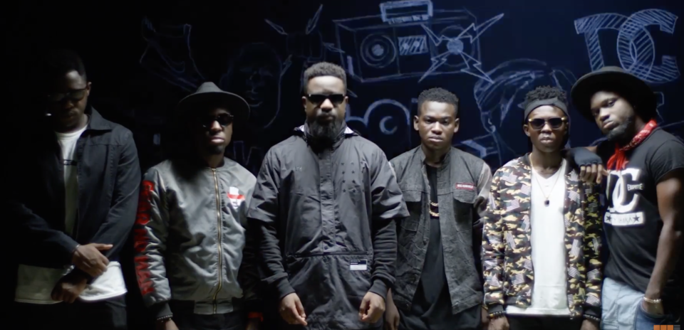 VIDEO: Sarkodie - Trumpet ft. TeePhlow, Medikal, Strongman, Koo Ntakra, Donzy & Pappy Kojo