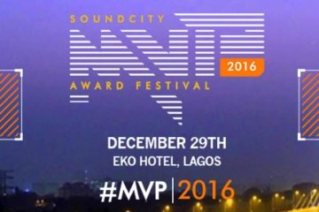 Guess Your Host For #SoundcityMVP2016 Awards Festival For Rare Backstage Access