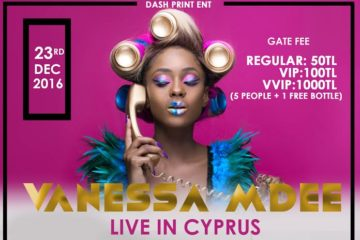 Vanessa Mdee LIVE In Cyprus | December 23, 2016