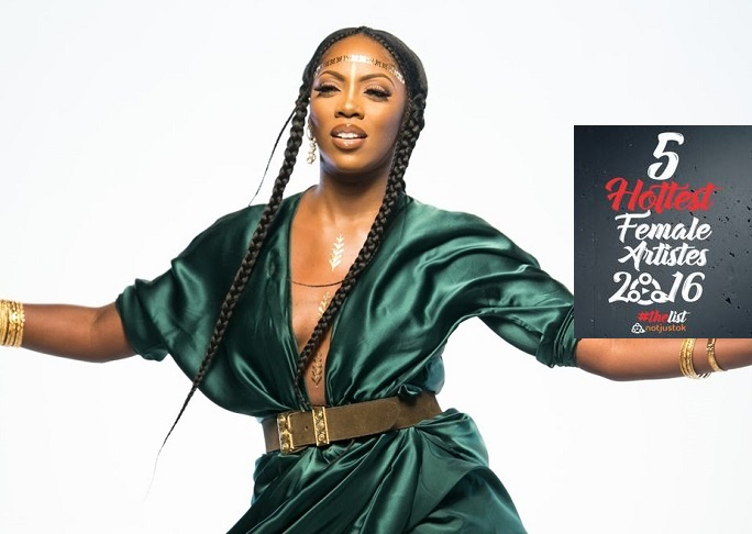 The 5 Hottest Female Artists in Nigeria #TheList2016: #2 - Tiwa Savage