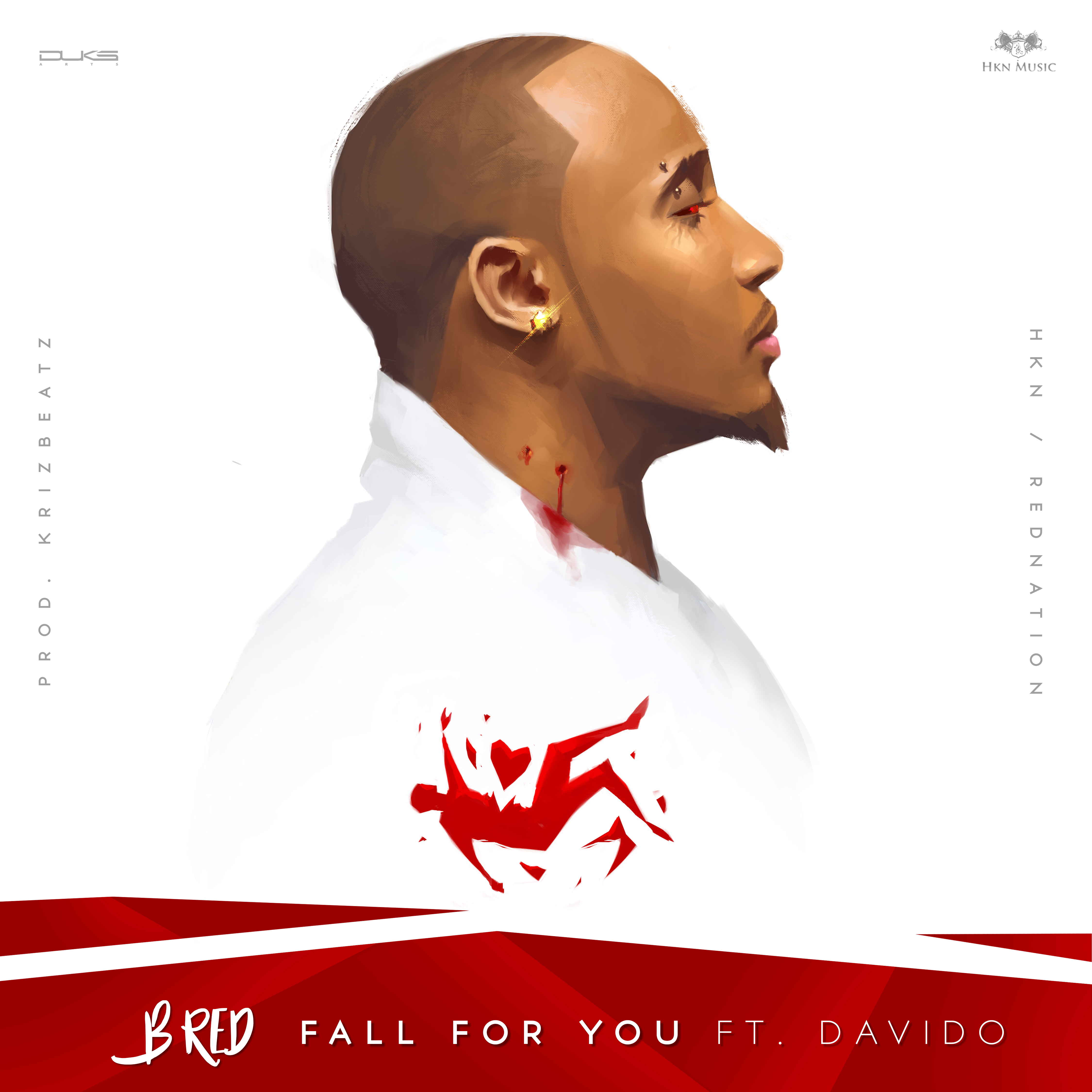 PREMIERE: B-Red ft. Davido - Fall For You