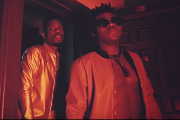 "Ycee & Reekado Banks Shoot Video For ""Link Up"""
