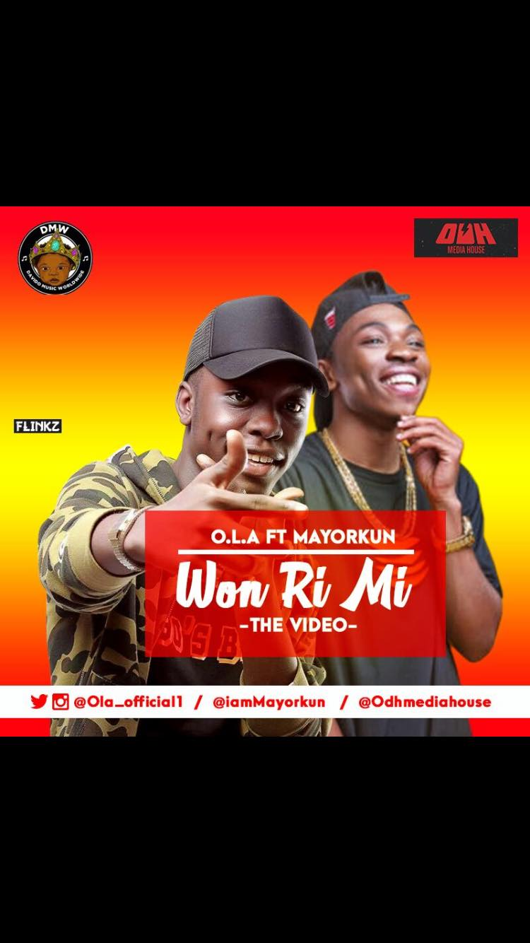 VIDEO: O.L.A Ft. Mayorkun – Won Ri Mi