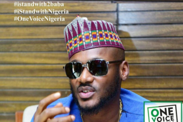 VIDEO: 2baba's Call To Nigerians To Join The #iStandWithNigeria #iStandWith2baba March/Protest