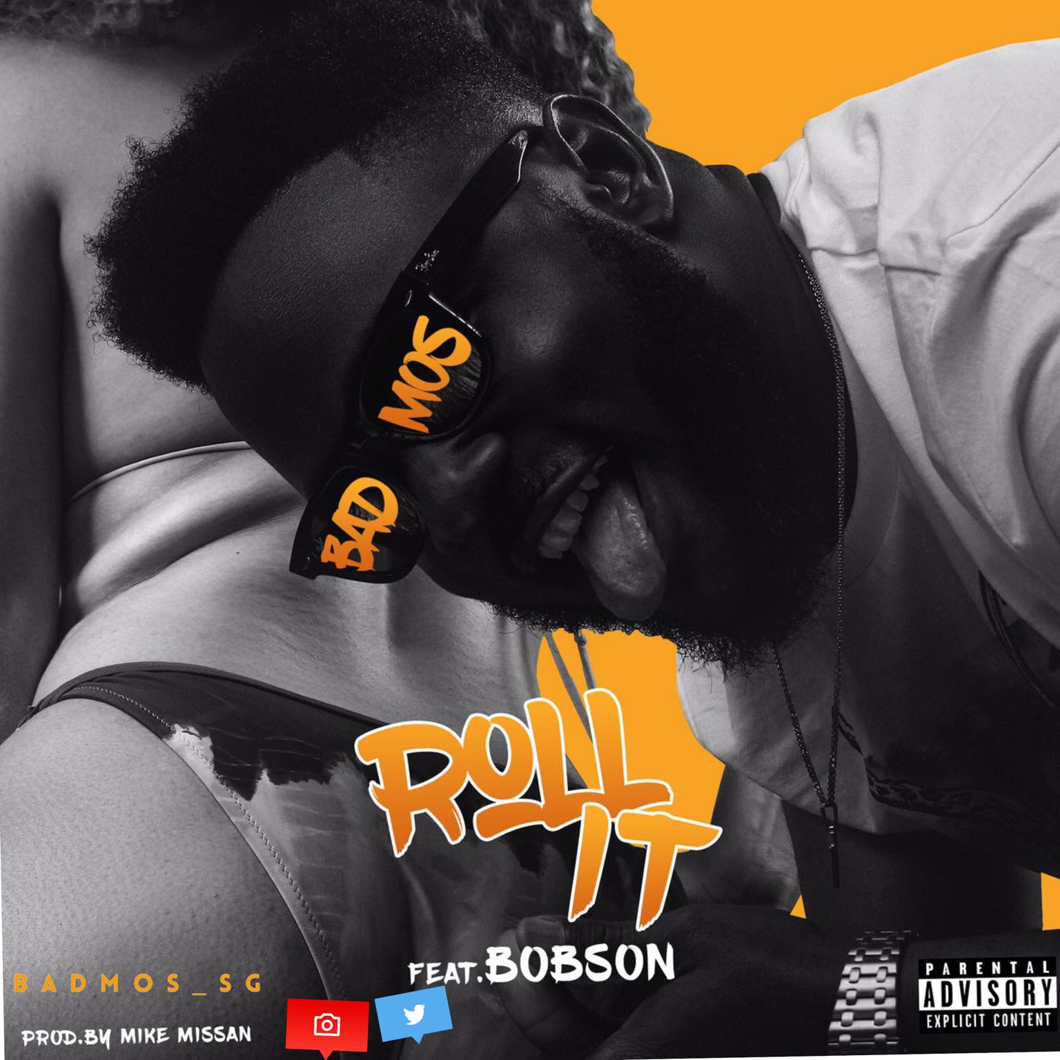 Badmos – Roll It ft. Bobson