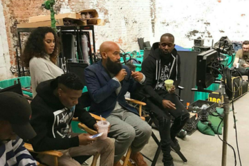 "Alan Ferguson Directs Wizkid's ""Come Closer"" Video, See Behind The Scene Photos"