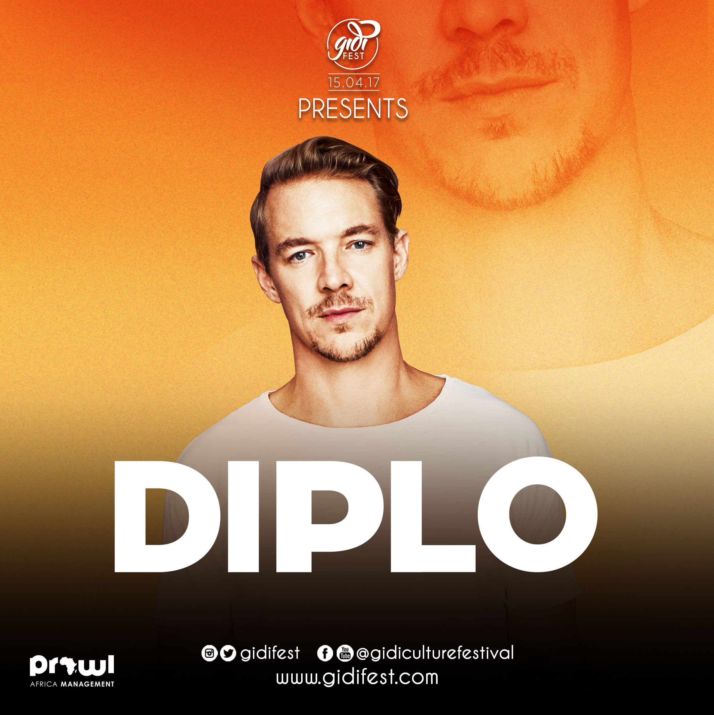 Diplo: DIPLO Joins Burna Boy And Davido At #GidiFest2017!