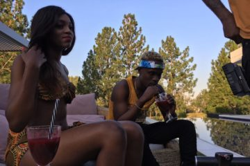 "Dotman Shoots Video For ""My Woman"" 