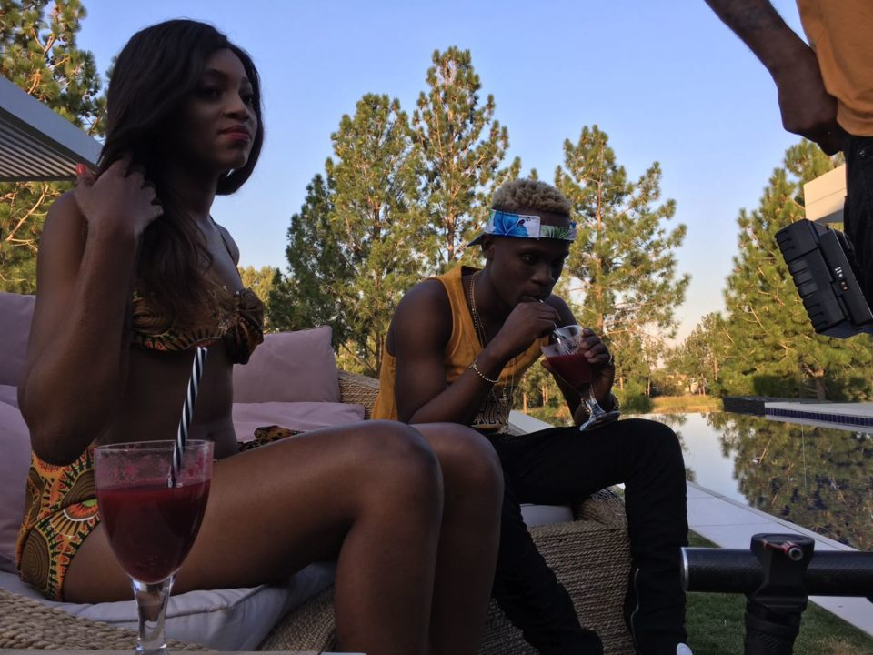 """Dotman Shoots Video For """"My Woman""""   B-T-S Pictures"""