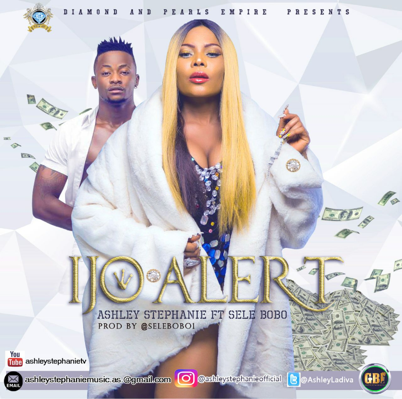 Ashley Stephanie Ft. Selebobo - Ijo Alert