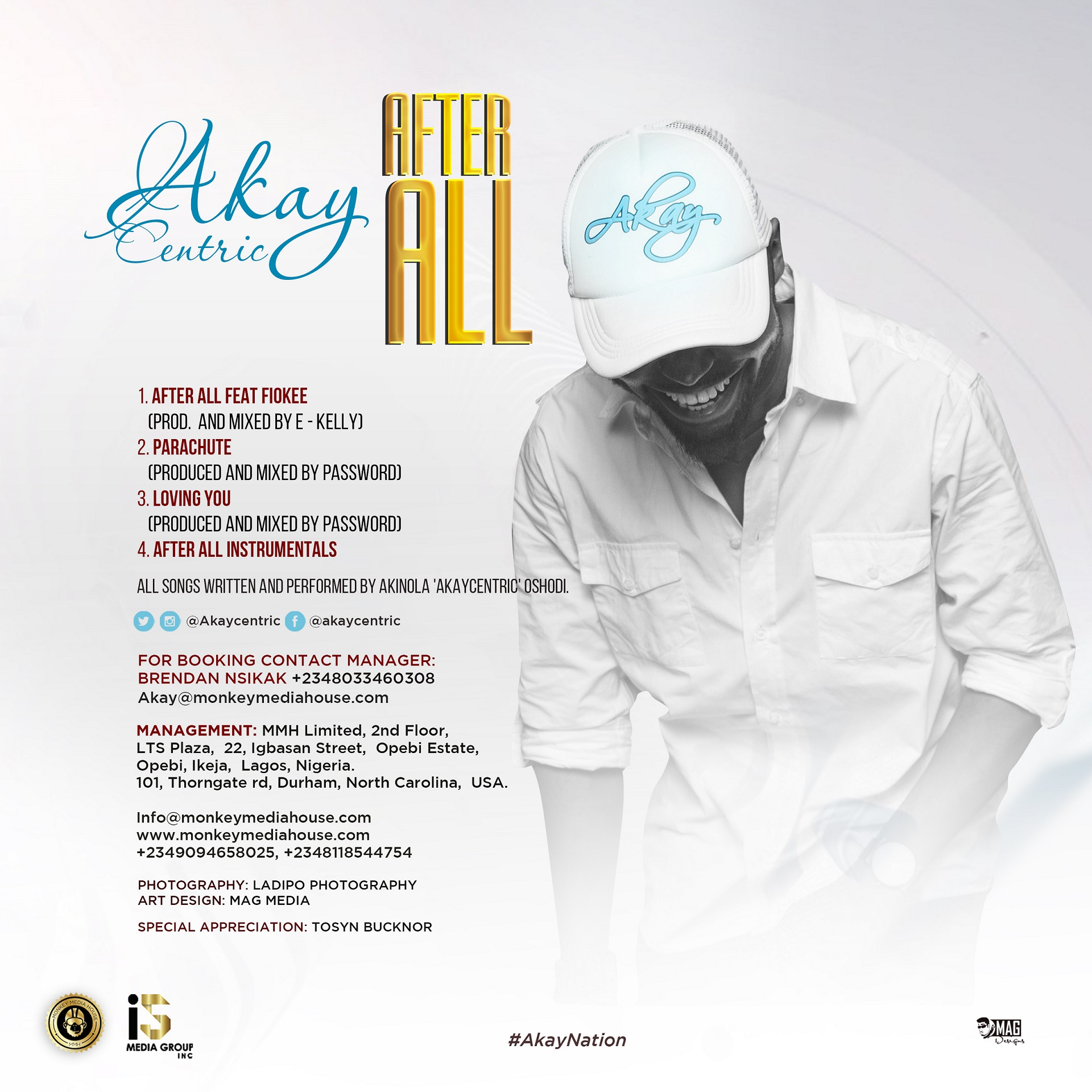 Akaycentric – AFTER ALL EP | DOWNLOAD - NotjustOk
