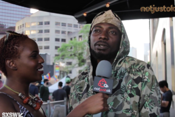 """Notjustok TV: """"It Was Meant To Be Roll Your Butt"""" – May D Talks New Single """"Row Ya Boat"""" ft. Rock City   #SXSW2017"""