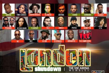 One Africa Music Fest Takes Over Wembley Arena 13th May!