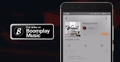 Boomplay - Get Music First! | Africa's #1 Music Service, Boomplay Rolls Out Its Pre-Order Feature