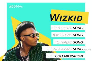 Billboard Acknowledges Wizkid's 7 #BBMAs Nominations