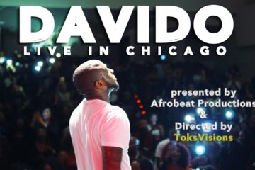 "VIDEO: Davido Performs ""IF"" @ His Live Band Concert in Chicago"